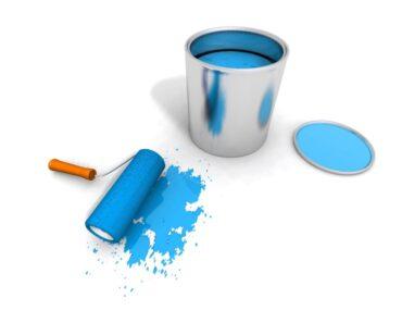 Det er vigtigt med den rigtige maling til ens gør det selv projekt